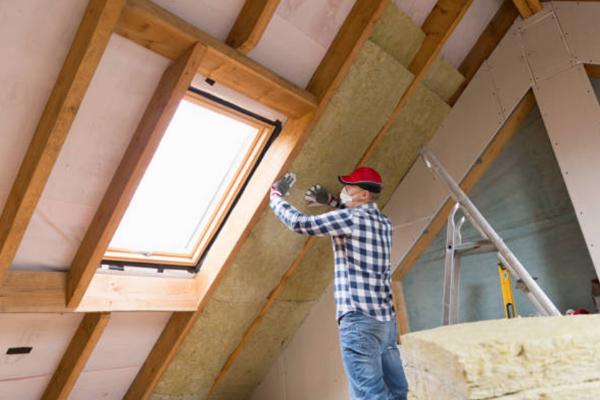 tømrer københavn - loftisolering